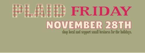 Plaid Friday FB Banner