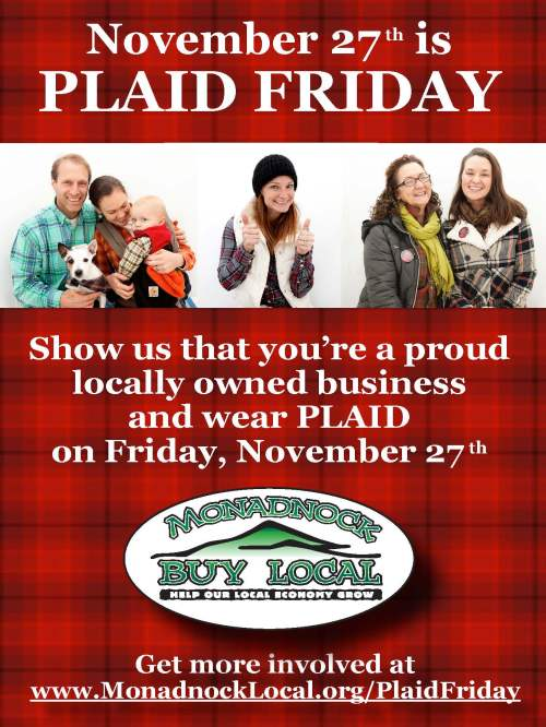 Call for Plaid Friday Biz